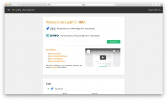 Easy Setup with the Exply for JIRA add on